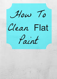 clean painted wallsDirty Walls Flat Paint Whats A Girl To Do  Home Ec 101