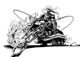 4-ghost-rider-coloring-page