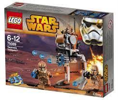 Siêu thi đồ chơi Lego - giảm giá tới 50% tại Shop Mẹ và Bé: Bộ xếp hình Lego  Star Wars 75089 mô hình quân đội Geonosis Troopers
