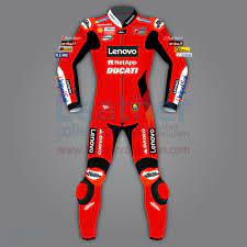 Motorrad Schutzanzug - Francesco Bagnaia Ducati MotoGP 2021