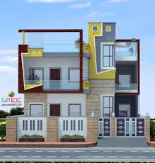 Indian Roof Boundary Wall Design Home Front Boundary Wall Design