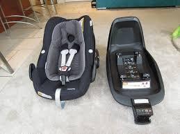 maxi cosi pebble plus baby car seat and 2 way fix isofix car seat base