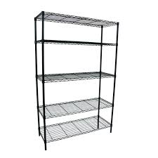 edsal shelving style selections in h x in w x in d 5 tier steel intended edsal shelving