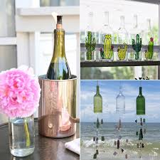 Wine Bottles Decoration Ideas Old Wine Bottle Decorating Ideas POPSUGAR Home 9