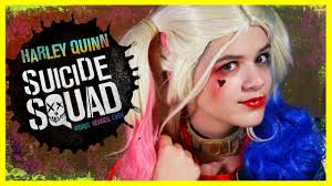 harley quinn squad makeup tutorial diy cosplay costume kittiesmama you