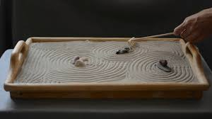 asmr mini zen garden 3 sand sounds no talking