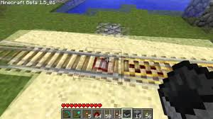 Minecraft How To Make And Use Powerdetector Rails Youtube