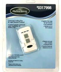 hunter fan remote control harbor breeze ceiling controller new universal light free replacement module har