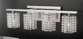 crystal bathroom light fixtures