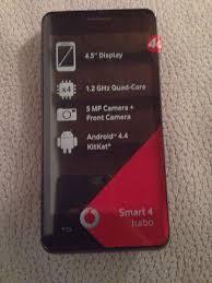Cellulare Vodafone Smart 4 Turbo in ...