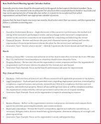 Example Of Meeting Agenda Format Board Template Word – Iinan.co