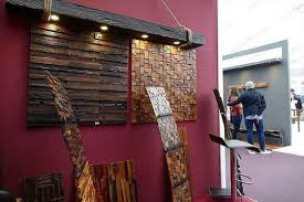 reclaimed wood tiles for walls