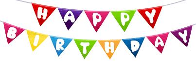 Happy Birthday Streamer Png Clip Art Gallery Yopriceville