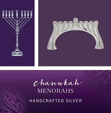 Silver Menorahs, Hanukkah Menorahs for sale | Hazorfim
