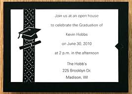 Graduation Name Card Inserts Cards For Invitations Te Party