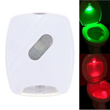 Bathroom Led Night Lights Us 3 62 17 Off Wireless Led Night Light Led Toilet Lamp Bowl Home Bathroom Light Human Motion Activated Light Motion Sensor Pir Red Green Color In