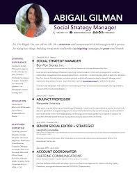 ABIGAIL GILMAN Social Strategy Manager | 262.352.7141 | abigilman@gmail.com  |