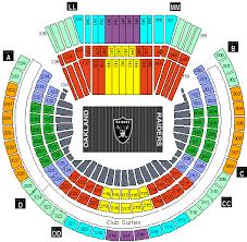 Lv Raiders Stadium Seating Chart Jaguar Clubs Of North America
