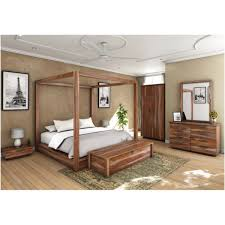 Sierra Living Concepts | Hampshire California King Size Canopy Bed ...