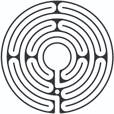 Labyrinth Patterns Unique Design