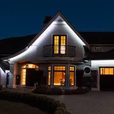 diy home peak lighting gutter img 2784 outdoor recessed led soffit