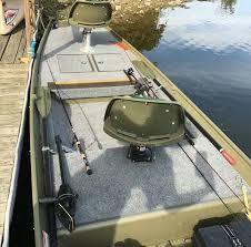 platform on jon boat