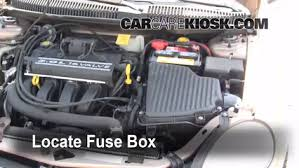 replace a fuse 2000 2005 dodge neon 2001 dodge neon 2 0l 4 cyl 2000 dodge neon interior fuse box diagram replace a fuse 2000 2005 dodge neon