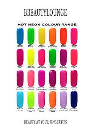 Elegant Nail Tips Plus Bluesky Nail Polish Bright Neon