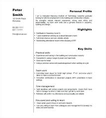 Examples Of Work Skills For A Resume Examples Example Job Resume