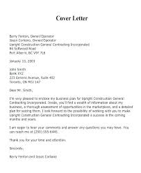 Sample Construction Cover Letters Construction Proposal Cover Page Letters For Proposals Bid