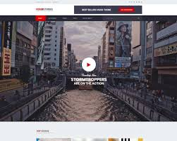 21 Highly Customizable Video Website Templates 2018 Colorlib