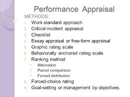 performance appraisal determinants and obstacles definition 6 performance