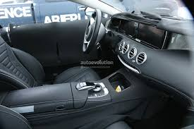 mercedes 2015 interior. 2015 mercedesbenz sclass coupe interior revealed mercedes