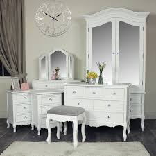white 7 piece bedroom furniture set victoria range