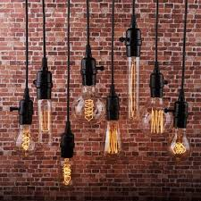 edison bulb lighting fixtures retro
