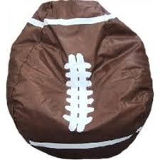 football bean bag chair large