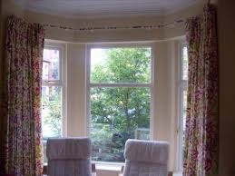 Awesome Of Bay Window Curtain Ideas That Work Perfectly And Look Great  Pictures