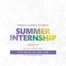 Graphic Design Internships India Morphogenesis Opens Entries For Its Paid Summer Internship
