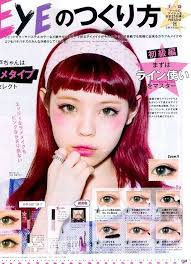 makeup trend magazine lips anese kawaii eyemakeup eyes