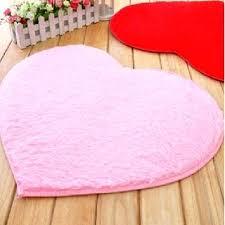 heart shaped bathroom rug floor mat crochet pattern