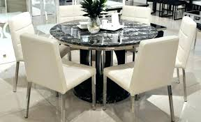 modern round dining table for 8 furniture exquisite modern round 60 round dining table modern 60
