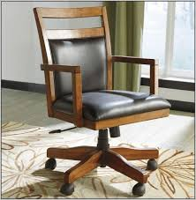 chair on wheels. wood desk chair small office chairs on wheels picture 46