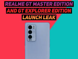 Realme GT Master Edition and GT ...