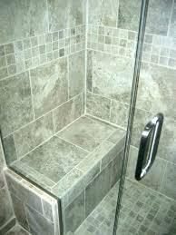 tile shower bench. Unique Tile Tile Shower Bench Ideas Showers With  Seats Large Mosaic Tiled Throughout Tile Shower Bench N