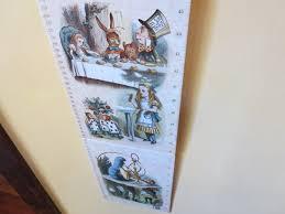 Wonderland Height Chart Sir Arthur Tenniels Alice In Wonderland Apples In Winter