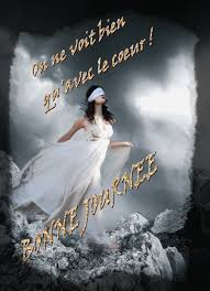 On Ne Voit Bien Quavec Le Coeur Bonne Journée Femme Gif