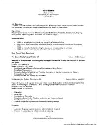 Office Manager Resume Objective Drupaldance Com
