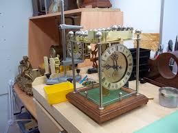ball bearing clock. ball bearing driven clock