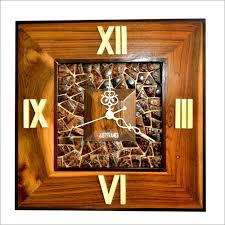 square shape wall clock supplier exporter