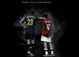 Marco Materazzi Rui Costa' Poster by Creative Shop